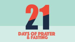 21 Days of Prayer @ Facebook Live