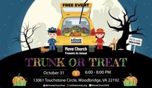 Move Church 2021 Trunk or Treat Fall Festival